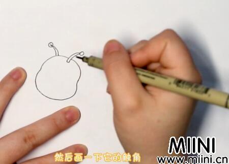 毛毛虫简笔画怎么画?毛毛虫简笔画步骤教程