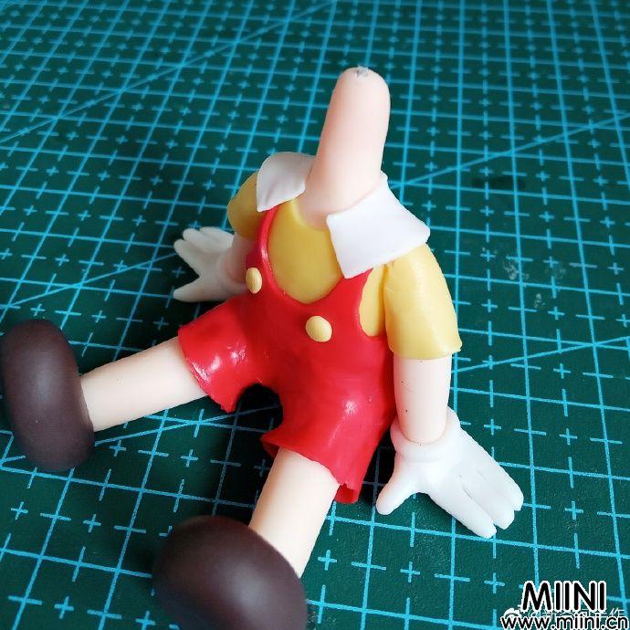 匹诺曹粘土人偶教程