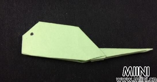 手工折纸小蝌蚪步骤教程