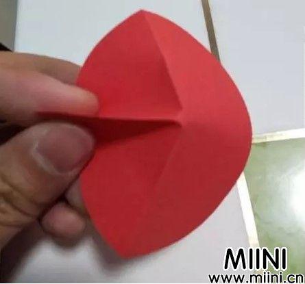 彩色折纸樱花详细图解教程