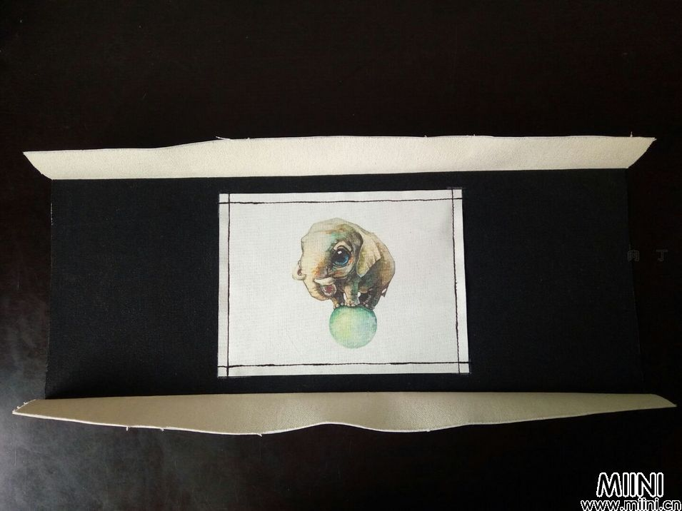 手工布艺皮球小象30cm支架口金包详细步骤教程