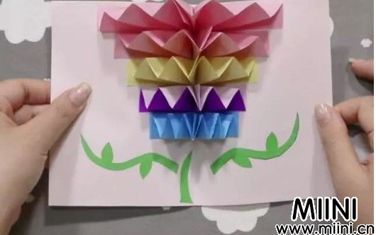 简单又有创意的贺卡折纸教程