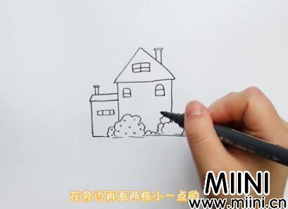 房子简笔画怎么画?房子简笔画步骤教程