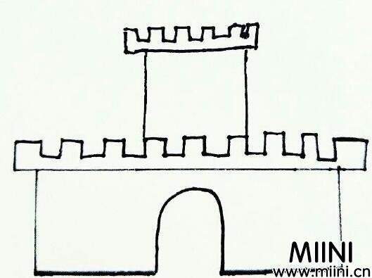 城堡怎么画好看?简单的城堡画法教程