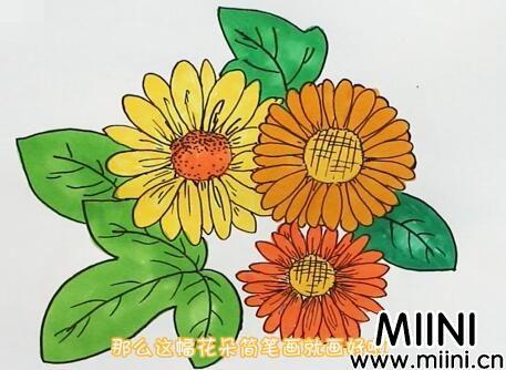 花朵怎么画?花朵画法步骤教程