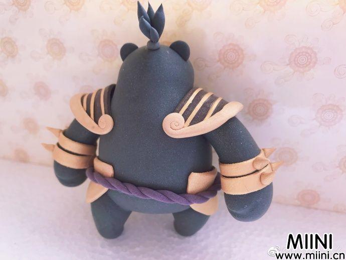 超轻粘土版本coco熊玩偶做法