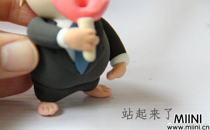 粘土海狸鼠玩偶制作步骤