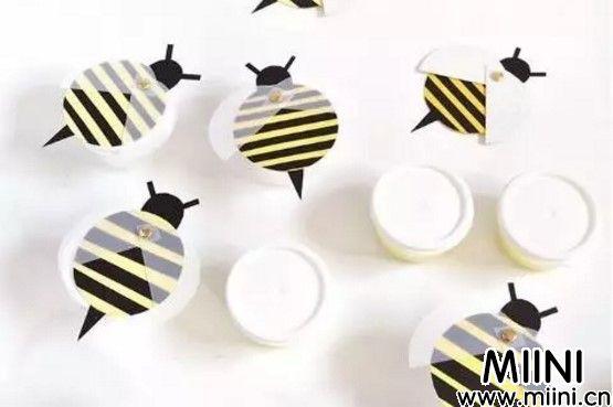 小蜜蜂的剪纸教程