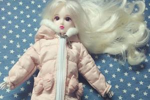 冬天到了,给娃娃做一个粉嫩系棉服图解教程