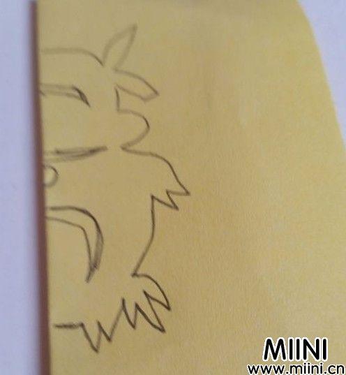 小牛剪纸05