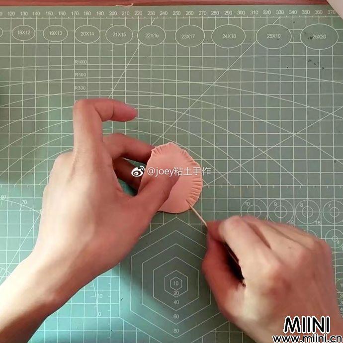 超轻粘土立体花篮教程图解