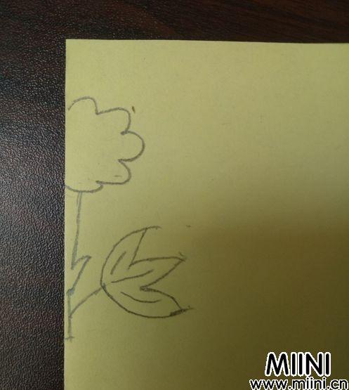喇叭花剪纸06