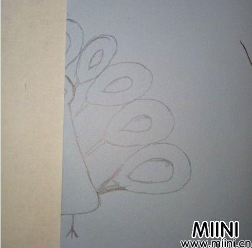 孔雀剪纸06