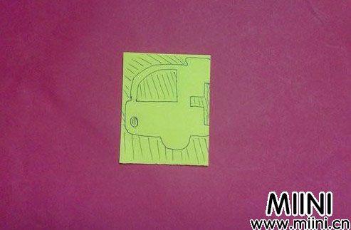剪纸汽车05