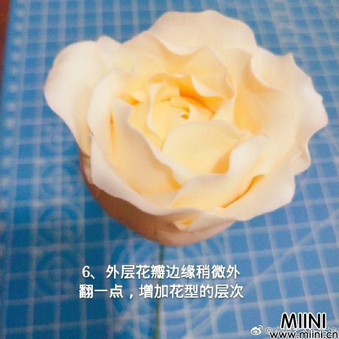 超美的粘土牡丹花制作教程