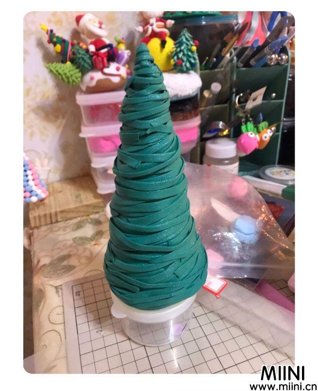 教你用粘土做圣诞树图解教程
