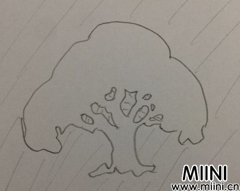 大树剪纸03