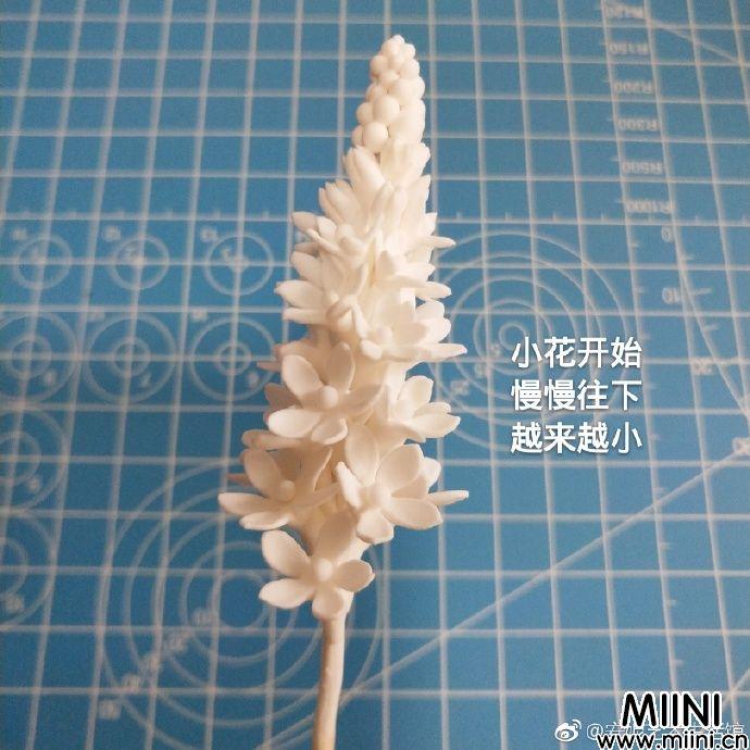 不知名的粘土小花朵制作教程