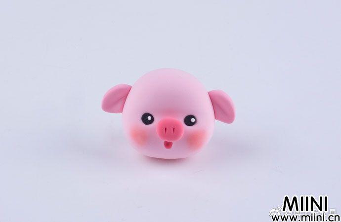 超萌粘土甜甜圈小猪的做法