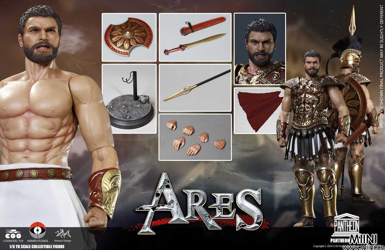 万神殿系列,战神-阿瑞斯和大力神-赫拉克勒斯