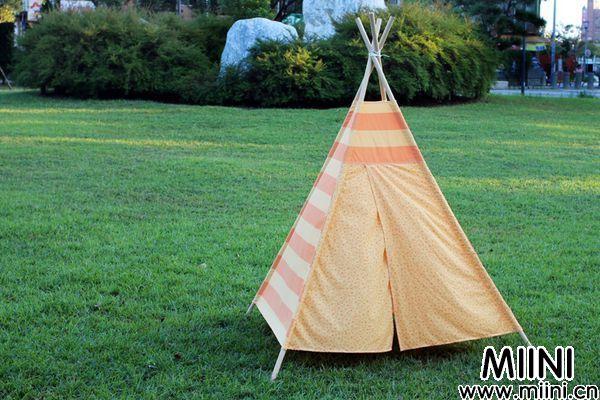 教你手工打造Teepee印地安帐篷的制作方法