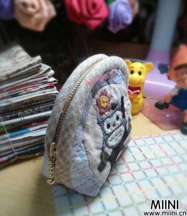 手工拼布贝壳包DIY图解步骤