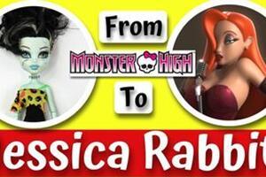 怪高改《谁陷害了兔子罗杰》美女杰西卡兔Jessica Rabbit