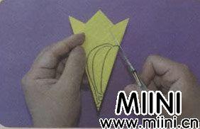 热气球剪纸的步骤图解