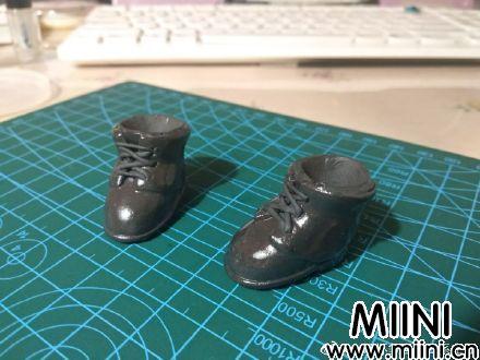 粘土系带皮鞋的详细做法