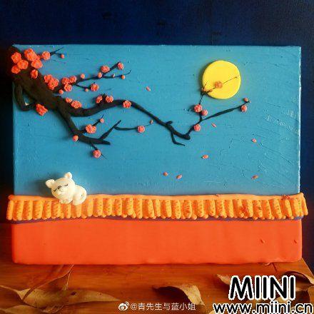 城墙上的<a href=http://www.miini.cn/search-0-495.html target=_blank class=infotextkey>粘土</a>猫咪玩偶做法