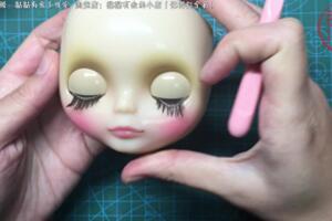 教娃娘如何改小布娃娃开眼和睡眼详细教程
