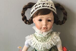 如何制作bjd娃娃的连衣小裙子步骤教程
