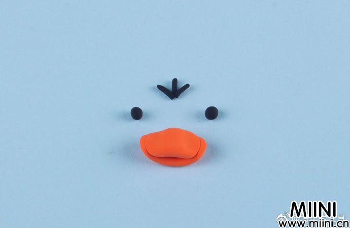 幼儿园粘土小黄鸭的简单做法