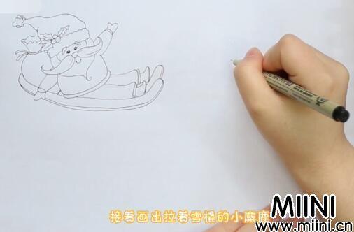 圣诞节儿童画怎么画?圣诞节儿童画步骤教程