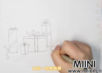 礼物盒简笔画怎么画?礼物盒简笔画步骤教程