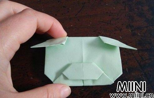 猪头折纸16