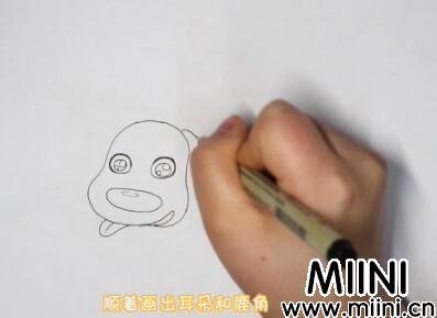 麋鹿简笔画怎么画?麋鹿简笔画步骤教程