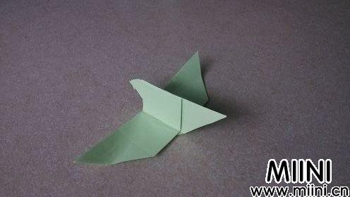 和平鸽的折纸步骤教程