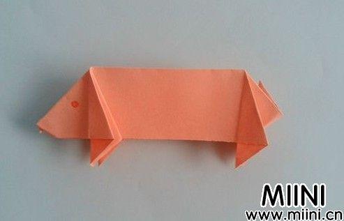 野猪<a href=http://www.miini.cn/search-0-497.html target=_blank class=infotextkey>折纸</a>09