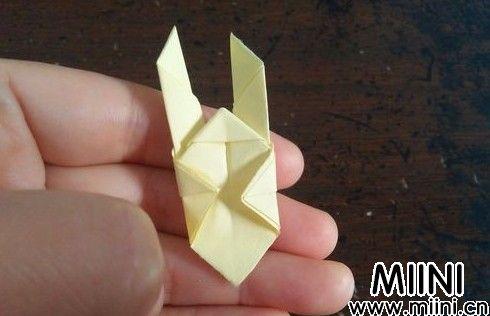 小兔指套折纸07