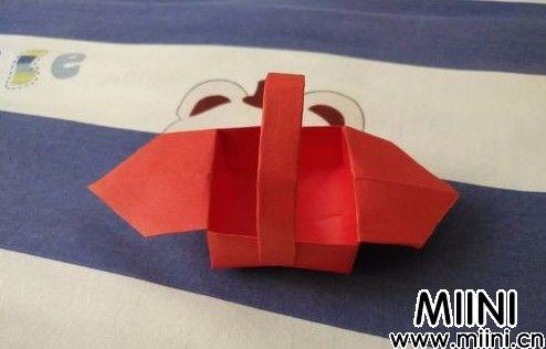 折纸小篮子16