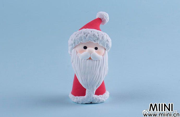 粘土圣诞老人的做法图解