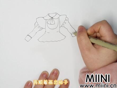 动漫人物衣服怎么画?动漫人物衣服画法步骤教程