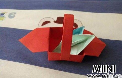 折纸小篮子01