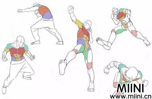 动漫人体该怎样画?动漫人体绘画学习教程