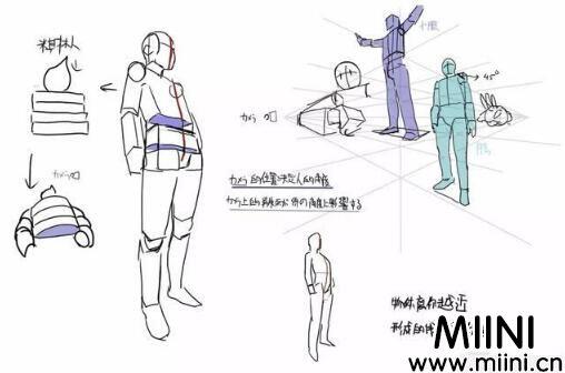 动漫人体绘画学习教程
