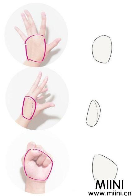 初学者怎样画动漫的手?动漫绘画初学者教程之手的画法