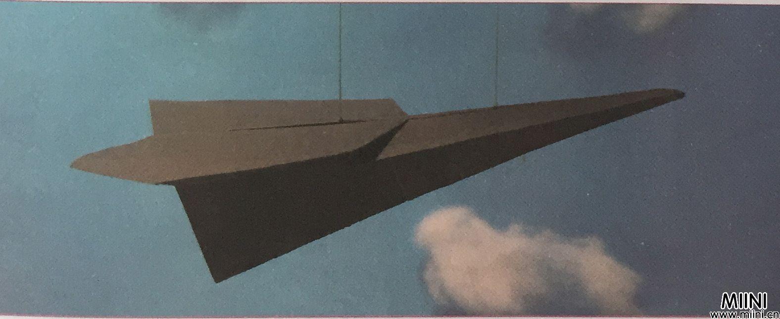 教你用纸折飞机方法