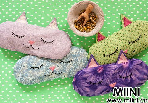 猫脸香薰枕、靠枕