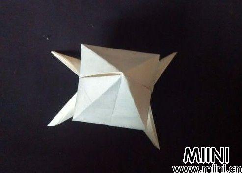 桃子的折纸步骤教程